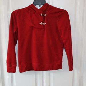 Red Lauren Jean Co S Sweatshirt